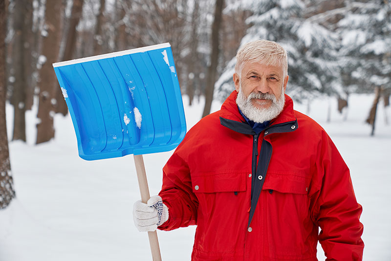 Fort Collins man preparing for landscaping maintenance