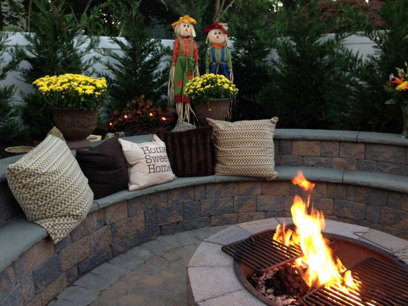 Fire pit in Fort Collins